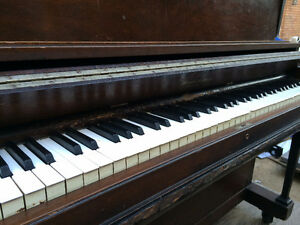Upright Piano - Mason & Risch -1935