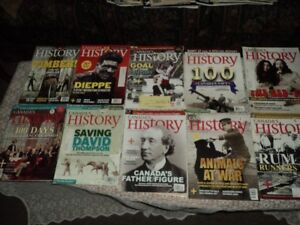 Canada's History Magazines  Sussex
