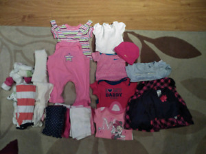 Baby girls 0-3 month clothing