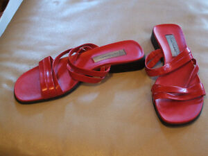 Used ladies shoes, sandals, boots, size 10, $5 each pair Sarnia Sarnia Area image 5