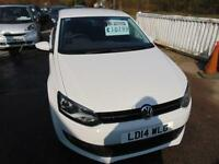 2014 Volkswagen Polo 1.4 Match Edition 5dr DSG 5 door Hatchback