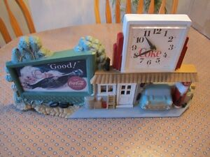 COCA COLA BATTERY OPERATED WALL CLOCK