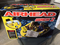 Airhead Mach 2 - 2 rider towable, Brand new in the box, Xmas!