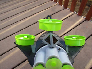 Cool dart gun incl. flying targets fully function great outdoors Strathcona County Edmonton Area image 2