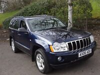 Jeep Grand Cherokee 3.0 CRD LIMITED (blue) 2006