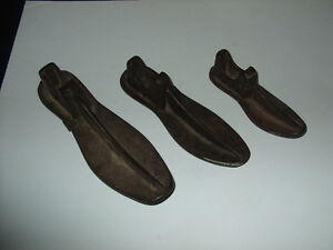 vintage cast iron shoe forms set of three Kitchener / Waterloo Kitchener Area image 1