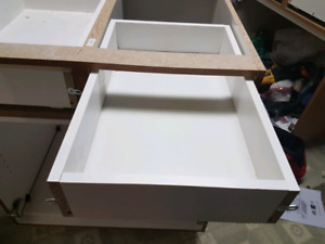 2 KITCHEN CABINETS FROM DIY