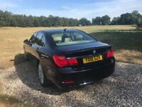 2010 BMW 730D 3.0 SE B/E + SAT NAV XENONS BEIGE LEATHER LONG MOT