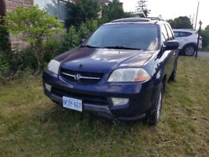 Acura MDX 2003 good solid body and interior mainly for parts