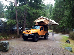 LAST CHANCE: 2012 Jeep Wrangler Sahara with roof tent