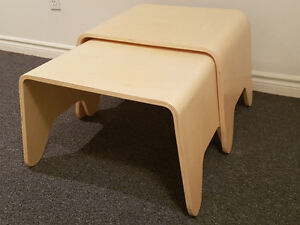 2 Side Tables in Birch Plywood Kitchener / Waterloo Kitchener Area image 3
