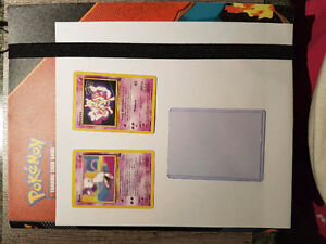MISC pokemon cards. Mint - used condition