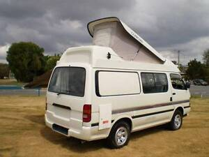 Toyota HiAce 4wd Manual Campervan 1995 Upwey Yarra Ranges Preview
