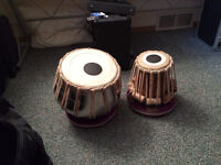 India Made Tablas for Sale $200  Includes everything you need