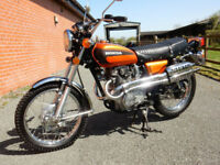 HONDA CL360 1975 MOT'd APRIL 2019