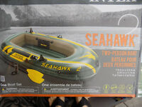 2 person inflatable boat SEAHAWK..NEW