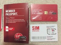 Rogers and Virgin Mobile SIM cards for sale.