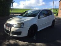 2007 VOLKSWAGEN GOLF GTI TURBO EDTION 30 £4995