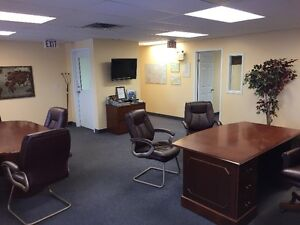 1275 sq.ft. of Great Clean Office Space facing Northfield Drive!