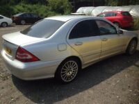 Breaking mercedes c220 diesel w203 facelift, auto, silver for part tm