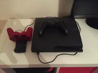 PS3 slimline with 8 games