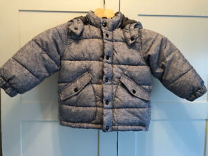 size 3 gap kids primaloft winter jacket toddler