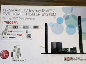 LG Smart TV 3D Blu-ray Theater System
