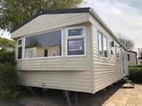 SUPERB NEW DOUBLE GLAZED STATIC CARAVAN REDUCED TO SELL! LOVELY HOLIDAY PARK!