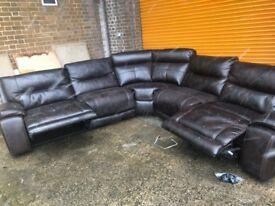 Harveys langdale large reclining corner sofa mis match
