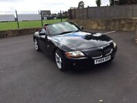 BMW Z4 2004 3.0 manual E85 82k convertible red leathers
