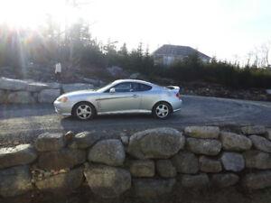 Hyundai Tiburon - Great sports car! Cheap on fuel