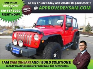 WRANGLER - Payment Budget and Bad Credit? APPROVEDBYSAM.COM Windsor Region Ontario image 1