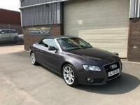 2009 59 AUDI A5 3.0TDI CONVERTIBLE S TRONIC QUATTRO SE ONLY 70,000 MILES