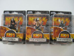 KISS Toys Kit Gene Simmons Paul Stanley Ace Peter