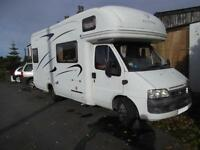 AUTOTRAIL CHEYENNE 630 SE, 4 BERTH, END KITCHEN, AIR SUSPENSION