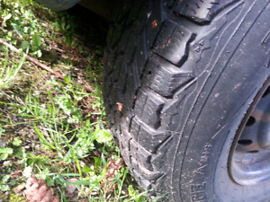 2 Rims and Tires 195/65/14