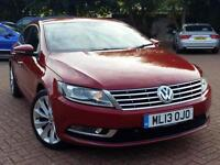 "2013 Volkswagen CC 2.0 TDI BlueMotion Tech GT 4dr RED LEATHER+SAT NAV+18"" WHEELS"