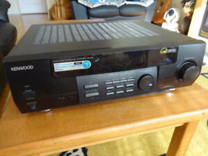 Kenwood VR-414 /250w/5.1 Channels/AV Surround Receiver for sale