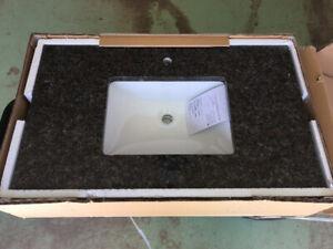 Granite Vanity Countertop & Undermount Sink