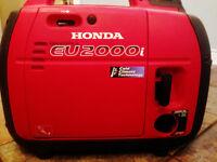 Honda EU 2000i Quiet Four Stroke Generator