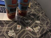 Offering cash for MacDonald's monopoly pieces