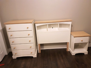 Dresser, Headboard and Night Table