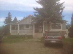 ACREAGE AND LAND HOUSE FOR RENT SW CALGARY
