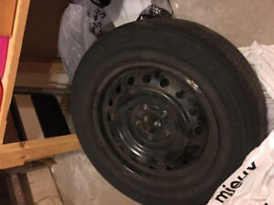 4 x 16 inch rims (5-bolt) from a Sonata (will fit other makes)