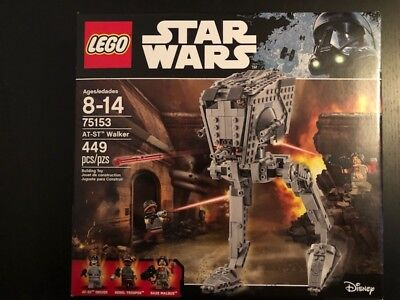 LEGO Star Wars AT-ST Walker 75153 New in Box Free Shipping!