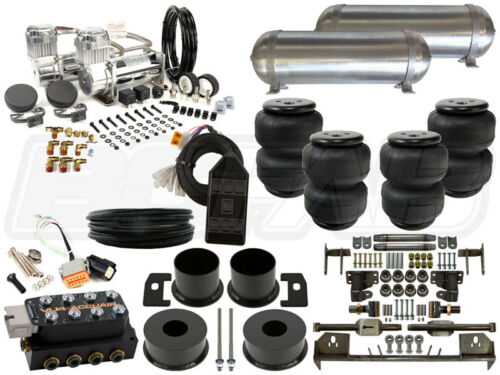 "Complete Air Ride Suspension Kit - 1964-1969 Lincoln Continental 3/8"" Level 3"
