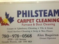 Carpet cleaning furnace & duct cleaning and strip and wax floors