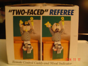 "FOOTBALL ""BAD/GOOD CALL REFEREE REMOTE CADDY"" FOR THE BIG GAME Windsor Region Ontario image 4"