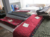 Fine Quilting Fabrics and Equipment for Sale