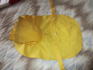 Yellow Slicker Dog Rain Coat